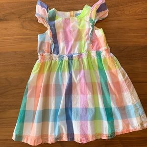 Gap Flutter Sleeveless Dress